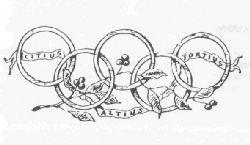 gamme complète d'articles meilleure valeur chaussure Symboles olympiques -